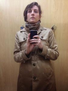New Technology #1:  iPhone Mirror Selfie.
