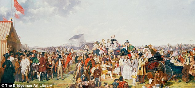 """The Derby Day"" by William Powell Frith"