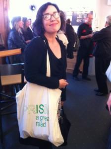 Aislinn Hunter, author and past MFA of UBC's Creative Writing Program
