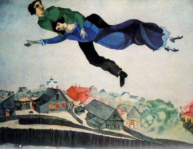 """Marc Chagall - """"Birthday"""""""